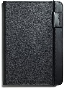 "Kindle Leather Cover, Black (Fits 6"" Display, 2nd Generation Kindle)"