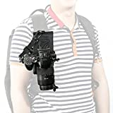 Movo Photo MB200 Universal Camera Holster Attachment System for Backpacks and Hydration Packs