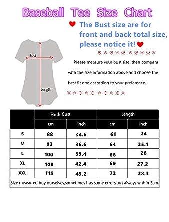 Womens Short Sleeve T-Shirt,Zombie,Evil Unicorn Myth S-XXL Baseball Print Casual O-Neck Tops