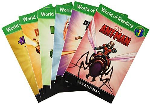 World of Reading Avengers Boxed Set: Level 1 (World of Reading, 2)