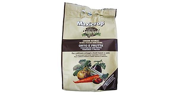 Valagro - Abono granulado Maxicrop Valagro para huerto y frutas, en paquete de 4 kg: Amazon.es: Jardín