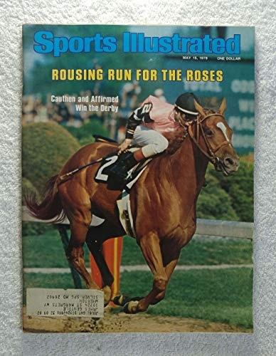 Affirmed - 1978 Kentucky Derby Winner - Sports Illustrated - May 15, 1978 - Horse Racing, Steve Cauthen - - 1978 Sports Illustrated Cover