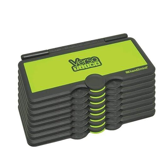 ETA hand2mind VersaTiles Answer Case Set of 8 Limted Edition Black