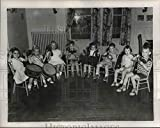 This is an original press photo. School's musical kindergarten has been magnet for out-of-state university representatives.Photo measures 10 x 8inches. Photo is dated 09-17-1950.