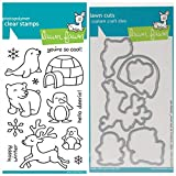 ShopForAllYou Stamping & Embossing (Stamp & Die Bundle)''Critters in The Snow'' Clear Stamps Only OR Clear Stamp