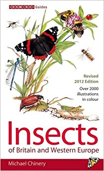 Book Insects of Britain and Western Europe: 3rd Edition (Field Guide)
