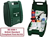 BS Compliant Vehicle First Aid & Fire Extinguisher Kit by Firstaid.co.uk Bild