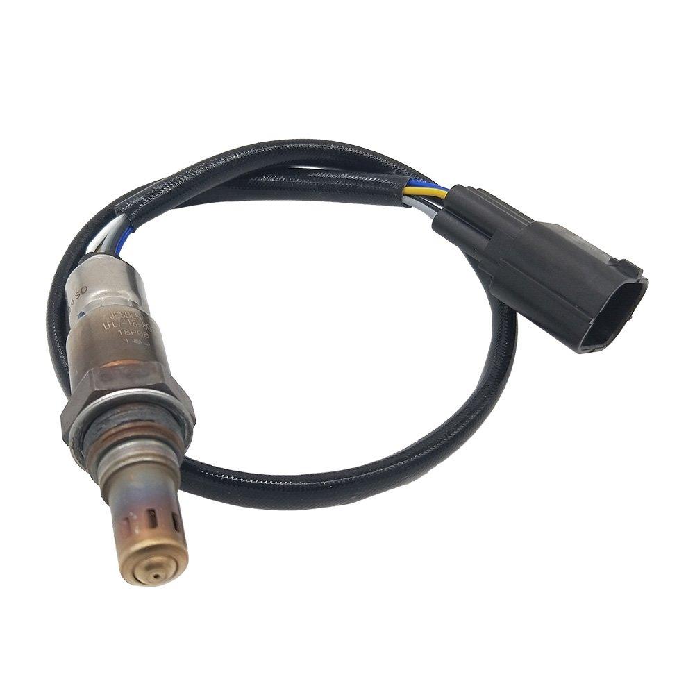 JESBEN Air Fuel Ratio Oxygen Sensor Upstream Sensor 1 Fit for Mazda 3 2.0L 2006-2011 Mazda 5 2.3L 2008-2010 LFL7-18-8G1