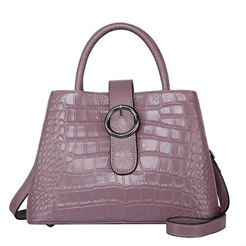 Dissa - Tote Bag Smooth Purple Skin Woman