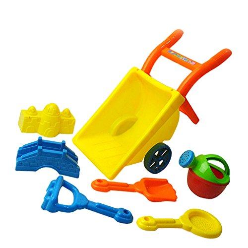 Fenteer ビーチ 公園 子供 砂のおもちゃ 手押し車 自然に近い ゲーム  贈り物   プラスチック