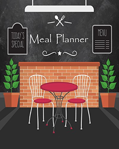 Meal Planner: : Weekly Menu Planner/Food Diary, Meal Prep/Shopping List, Meal Schedule, 52 weeks ( 1 year ),Size 8x10 Paperback