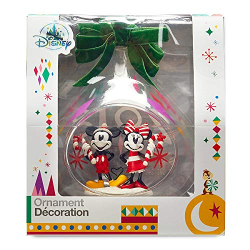 Mickey Minnie Disney Mouse (Disney's Mickey and Minnie Mouse Holiday Glass Drop Sketchbook Ornament -- 2018 Edition)