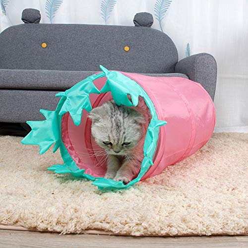 GeWu888 Cama de Gato túnel Dragón Roll Gato del Juguete de ...