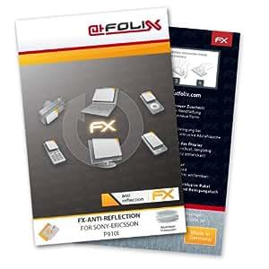 Displayschutz@FoliX - atFoliX Lámina protectora de pantalla FX-Antireflex para Sony-Ericsson P910i - ¡Protección antirreflejos para la pantalla! Máxima calidad