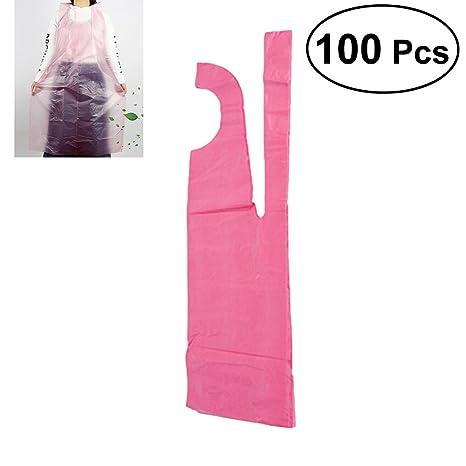 Image result for pink plastic apron