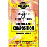 Konkani Composition: Book One (Rajhauns Bhandar)