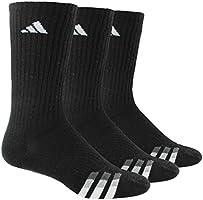 adidas acolchado de los hombres Color calcetines largos (paquete de 3)