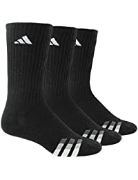 Men's Cushioned Color Crew Socks (3-Pack)
