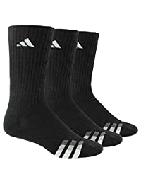 adidas Men's Cushioned Color Crew Socks (3-Pack)