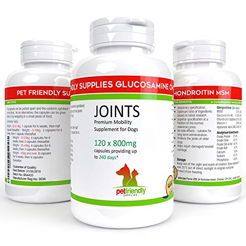 Premium Glucosamine for Dogs, Advanced Hip and Best Joint