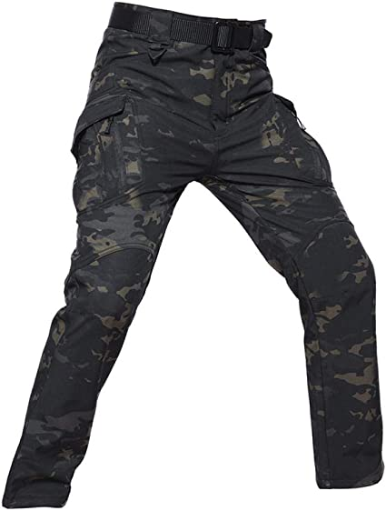 SHYSBV Pantalones Impermeables Trekking Warm Softshell ...