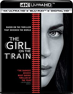 Cover Image for 'The Girl on the Train [4K Ultra HD + Blu-ray + Digital HD]'