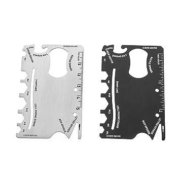 Kit de herramientas de bolsillo multitool para tarjeta de ...