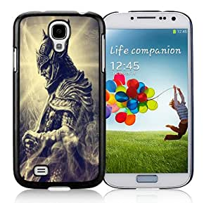 Hot Sale Samsung Galaxy S4 I9500 Screen Cover Case With skyrim 04 Black Samsung S4 I9500 Case Unique And Beautiful Designed Phone Case