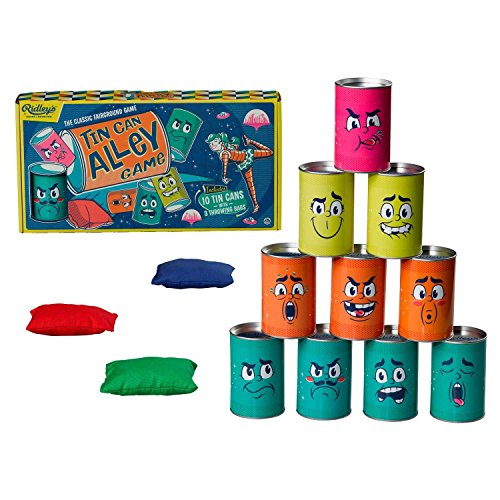 Ridley's Outdoor Tin Can Alley Game