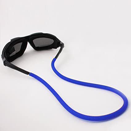 0f4a07d06e5 Amazon.com   Blue Sunglass Line Retainer Cord Float Strap Boating Floating  String Rubber New   Kitesurfing Accessories   Sports   Outdoors