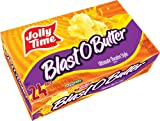 microwave popcorn jolly time - Jolly Time Blast O Butter Ultimate Movie Theatre Microwave Popcorn, Bulk 24-Count Box, 76.8 Oz