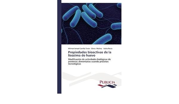 Propiedades bioactivas de la lisozima de huevo: Amazon.es ...