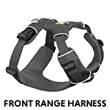 Ruffwear All Day Adventure Dog Harness, Small Breeds, Adjustable Fit, Size: Small, Twilight Grey, Front Range Harness, 30501-025S