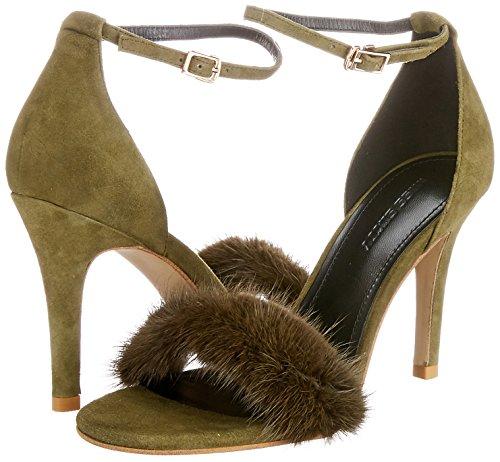 Zapatos Sintético Verde Zela Miss Material Vestir Shoes e03430 673qj802000e De Para Sixty Mujer wInTqp68