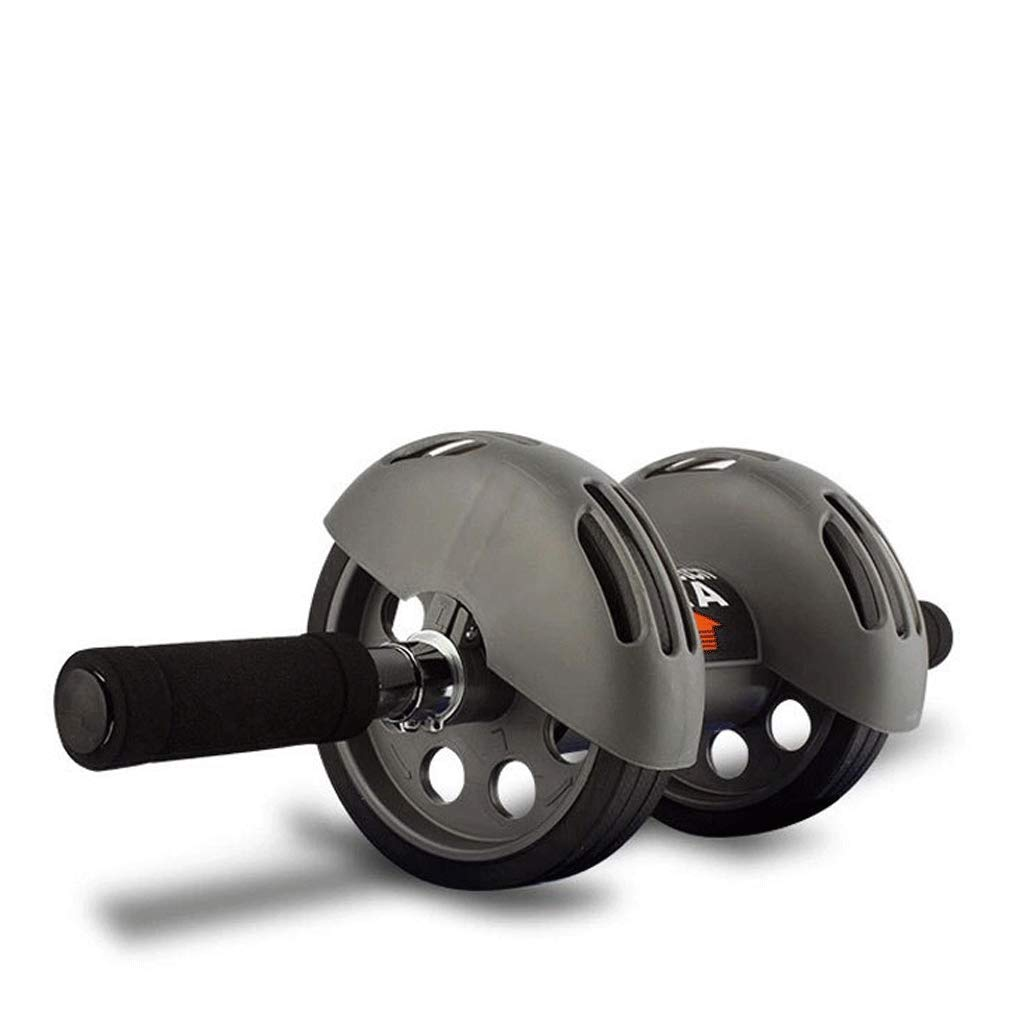 FYONG Abdominal Rad Doppelrad Home Übung Trainer Anti-Rutsch-Roller