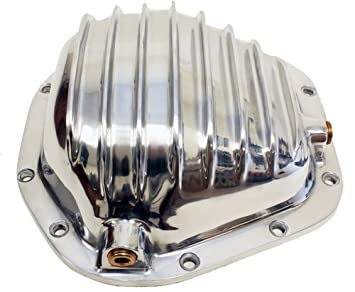 1966-UP Compatible//Replacement for DODGE//FORD//GMC//JEEP DANA60 POLISHED ALUMINUM FRONT//REAR DIFFERENTIAL COVER 10 BOLT