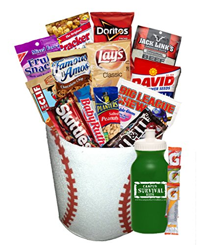 Sports Campus Survival Kit Care Package (Baseball)
