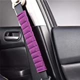 Fochutech Seatbelt Cover Shoulder Strap, Linen Car