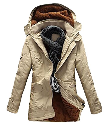 Cotton UK Trench Hoodie Windbreaker Lightweight today Men's Jacket Khaki Coat qaEd1ww