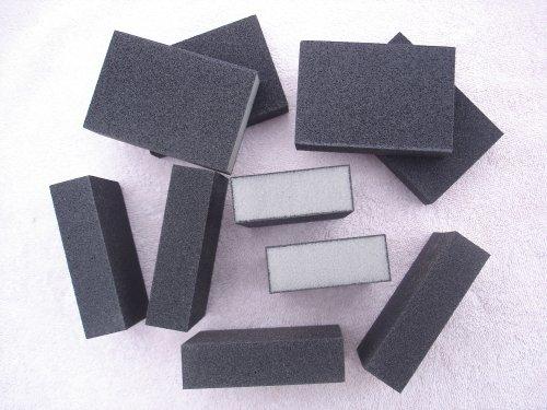 10 New Wet/dry Sanding Sponges Sponge Coarse Wood Metal