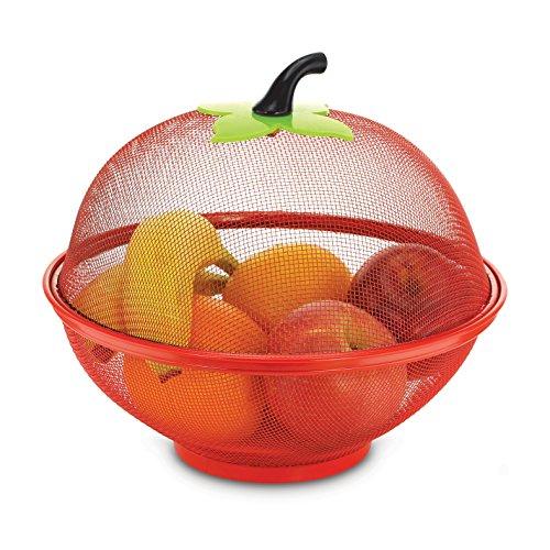 KOVOT Mesh Apple Fruit Basket Fruit Bowl, 10