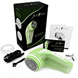 Just-F-Care Electric Rechargeable Lint Remover - Green