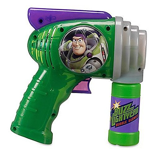 (Disney Parks Toy Story Buzz Lightyear Bubble Blower Gun Toy)