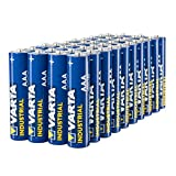 Varta Industrial Battery AAA Micro Alkaline Batteries LR6 - pack of 40, Made in Germany, environmentally friendly packaging