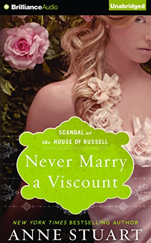 Never Marry a Viscount (Scandal at the House of Russell) by Brilliance Audio