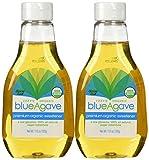 Izzy's Organic Blue Agave Sweetener, 11.5-ounce Bottles [Pack of 2]