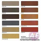 pufas dach und sockelfarbe 5l farbe sandstein 954neu dachfarbe sockel anstrich garten. Black Bedroom Furniture Sets. Home Design Ideas