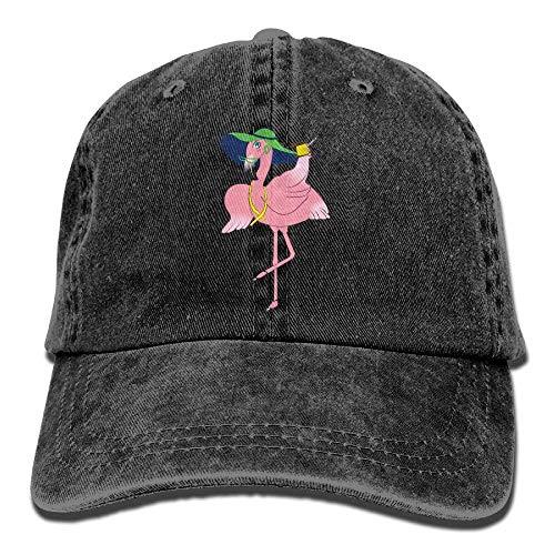 Travel ruishandianqi Gorras Caps Great Male Denim béisbol Hat Baseball Flamingo Adjustable wrtCdrBq