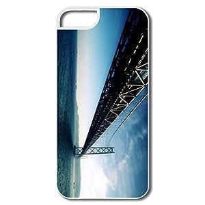 Custom Amazing Design Silicone Akashi Kaikyo Bridge Japan IPhone 5/5s Case For Him by lolosakes