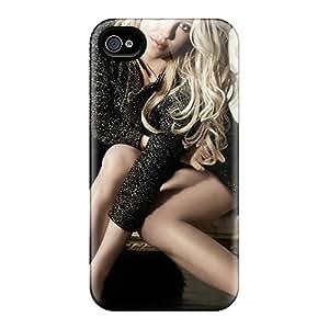Cute Appearance Cover/tpu GLdnI17680dSstQ Britney Spears 2013 Case For Iphone 4/4s